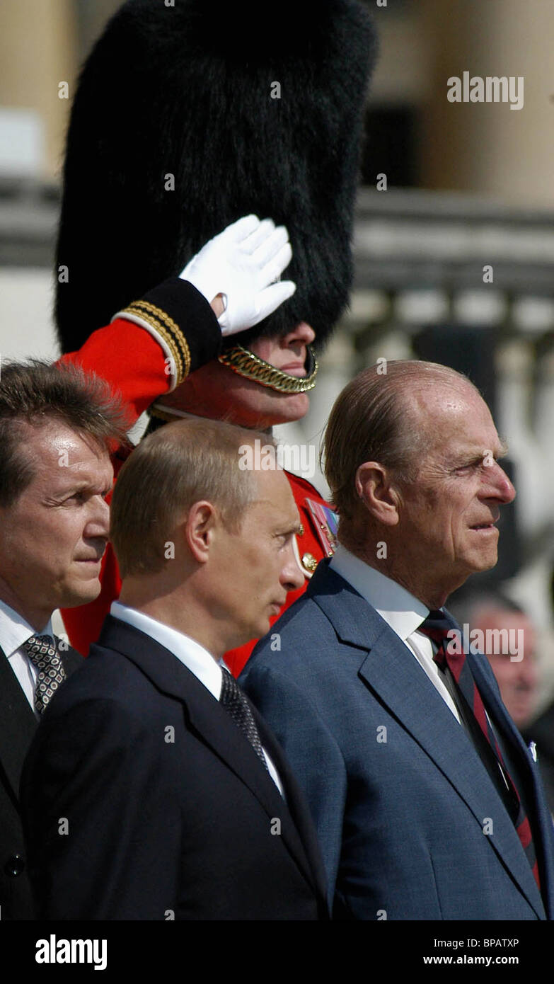 Welcome ceremony in London - Stock Image