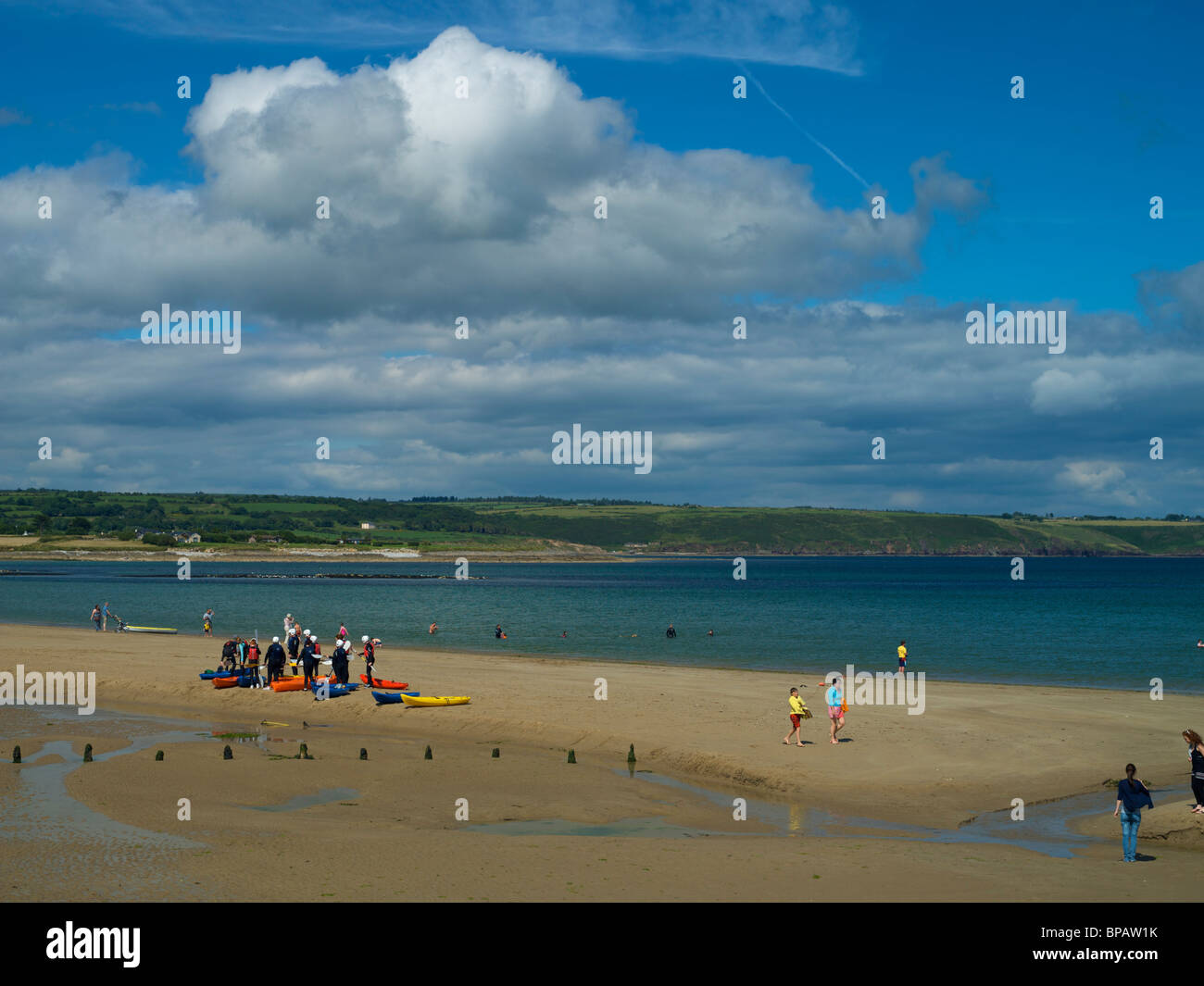 Ardmore Beach - Stock Image