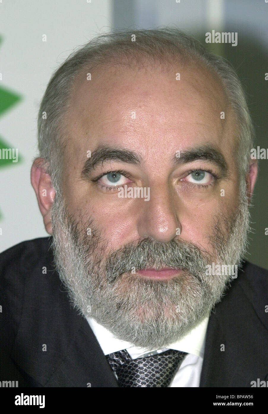 Press conference on TNK-BP company - Stock Image