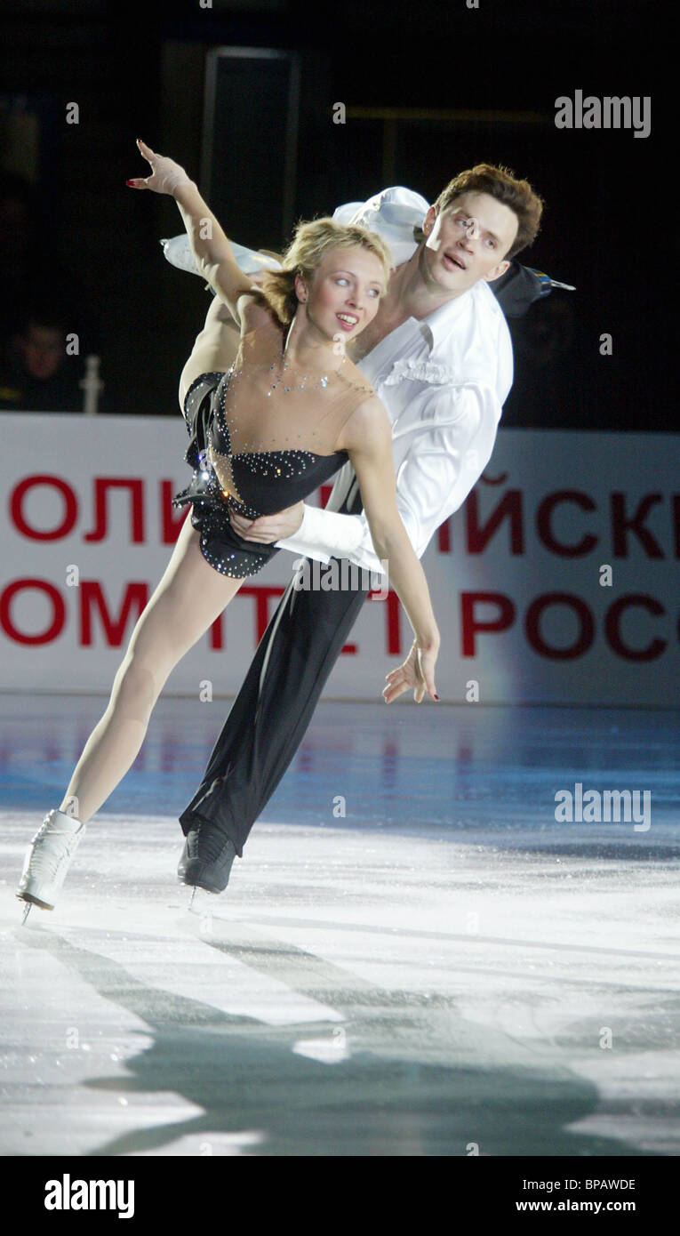 ISU Grand Prix Cup of Russia ended - Stock Image
