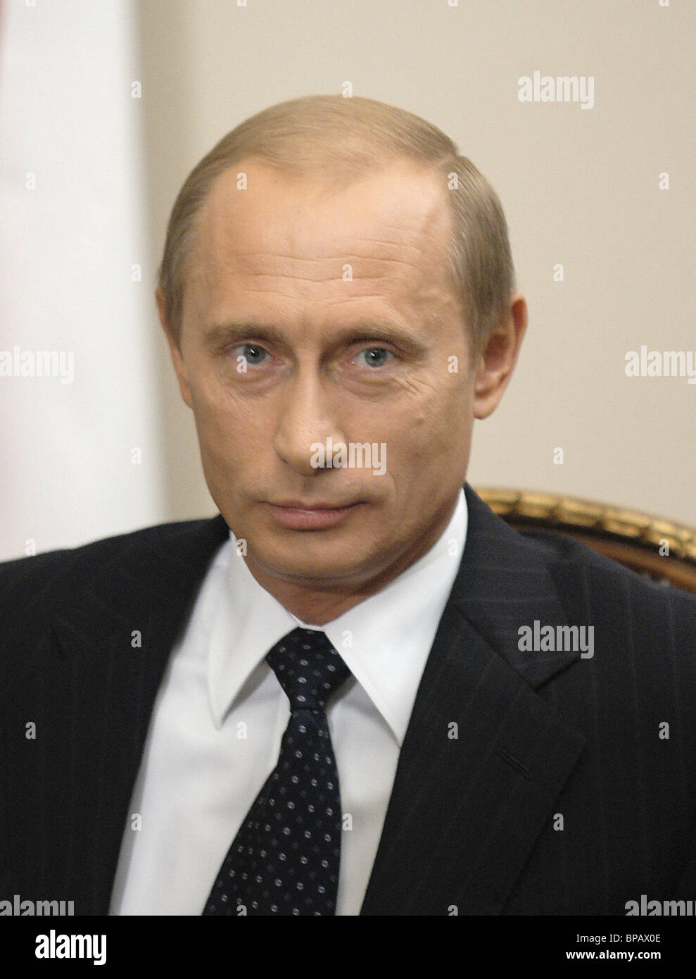 Vladimir Putin, President of the Russian Federation. 2003 - Stock Image