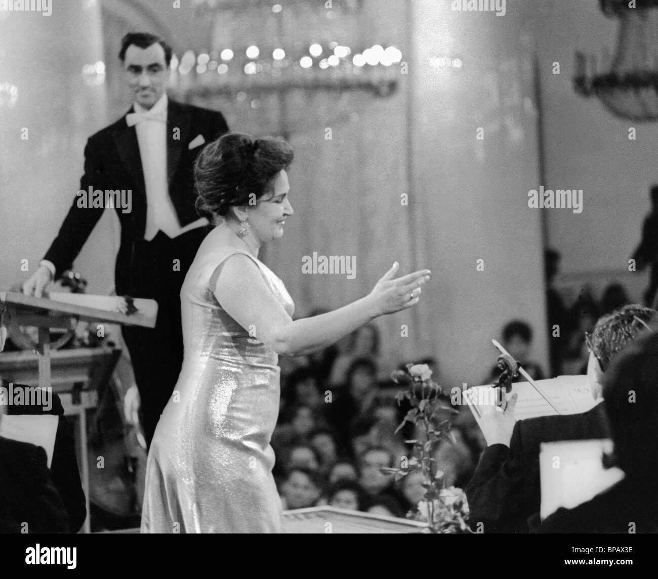 Irina Arkhipova. Recital, 1964 - Stock Image