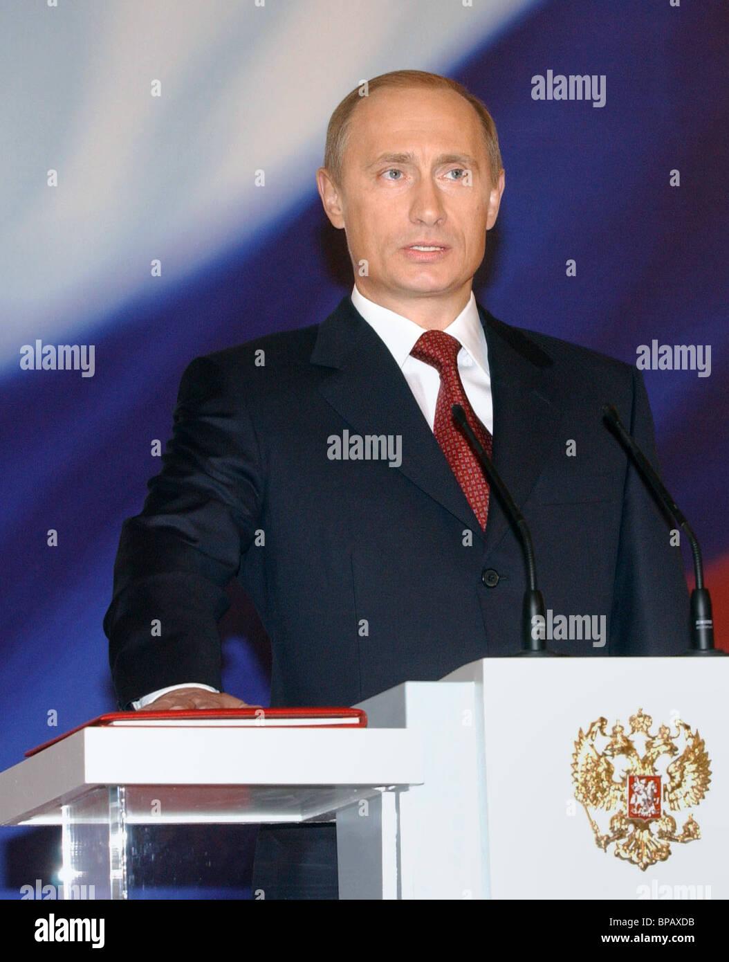 Inauguration Ceremony of President of Russia Vladimir Putin - Stock Image
