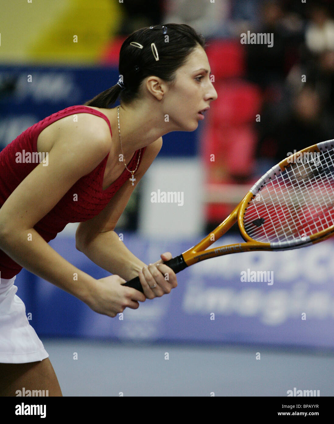 Fed Cup Championship finals in Moscow - Stock Image