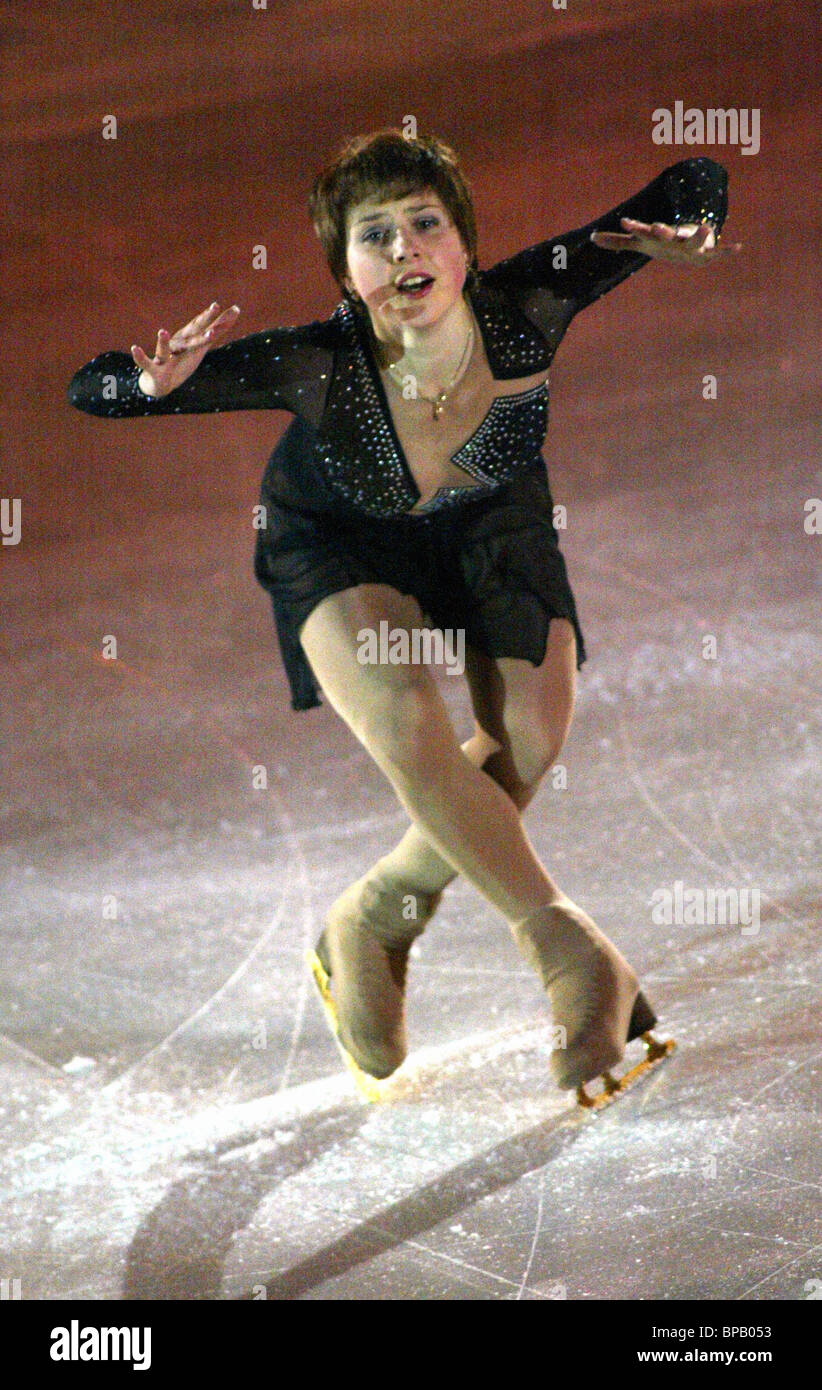 Illya Averbukh and Irina Lobacheva's ice-show 'Together and Forever' - Stock Image