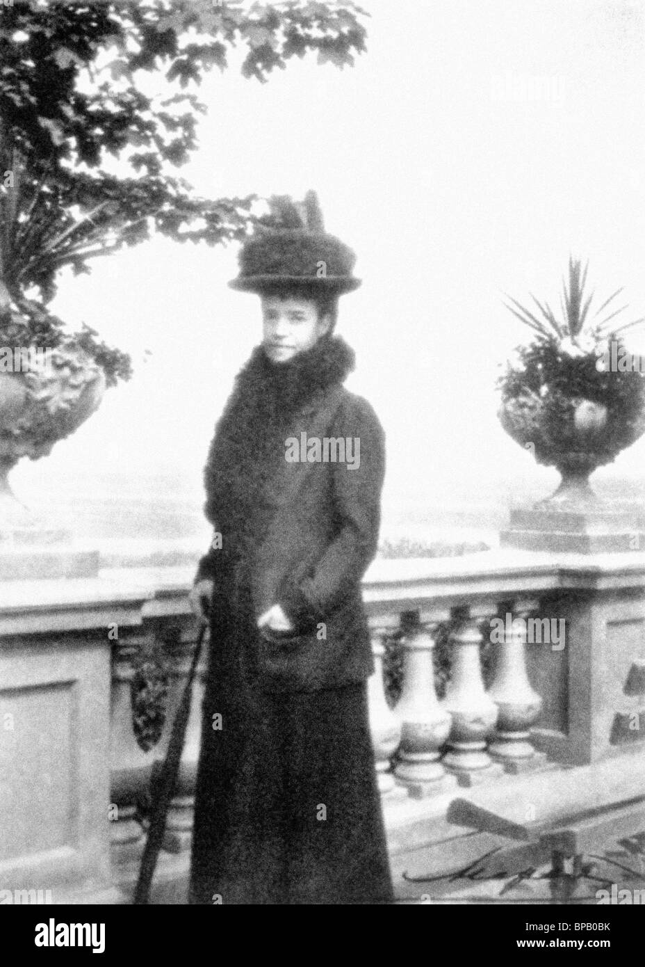 Dowager Empress Maria Feodorovna - Stock Image
