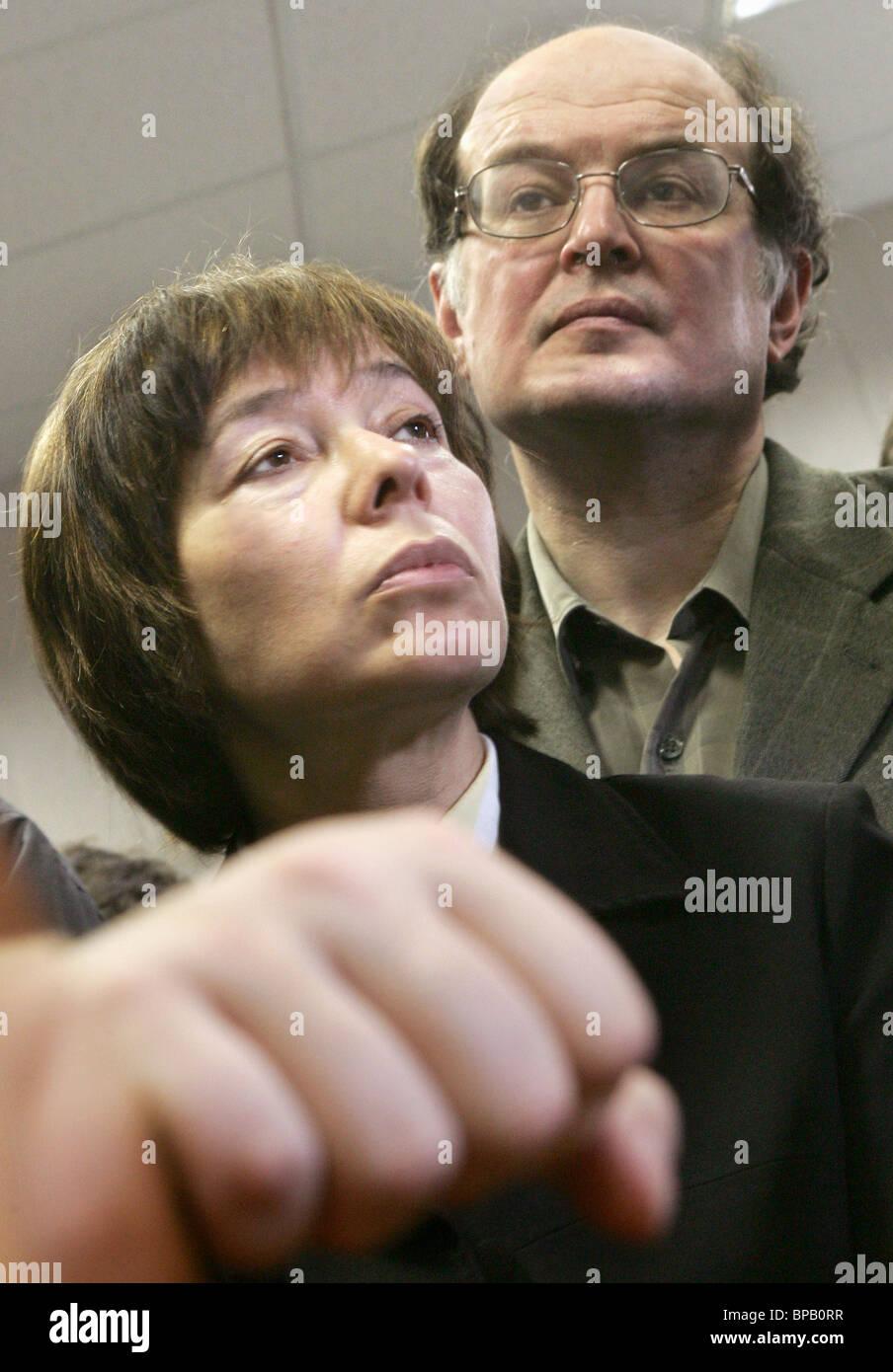 Court fines organisers of їBeware: Religion!о exhibition - Stock Image