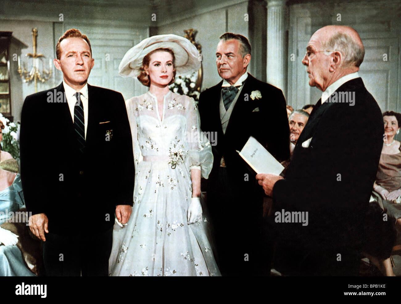 BING CROSBY, GRACE KELLY, SIDNEY BLACKMER, HUGH BOSWELL, HIGH SOCIETY, 1956 - Stock Image