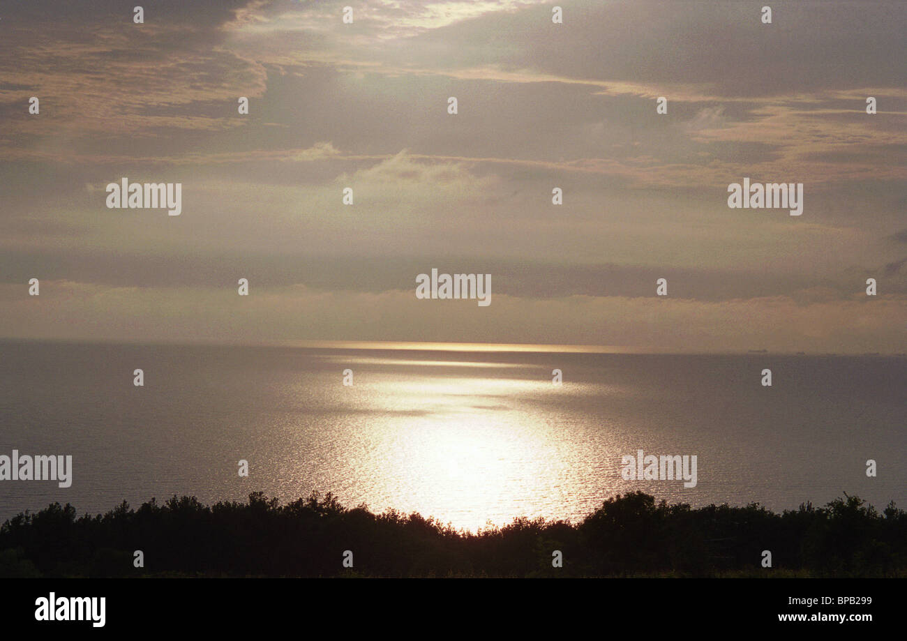 Landscapes and seascapes of Russian Black Sea resort of Gelendzhik, 2005 - Stock Image