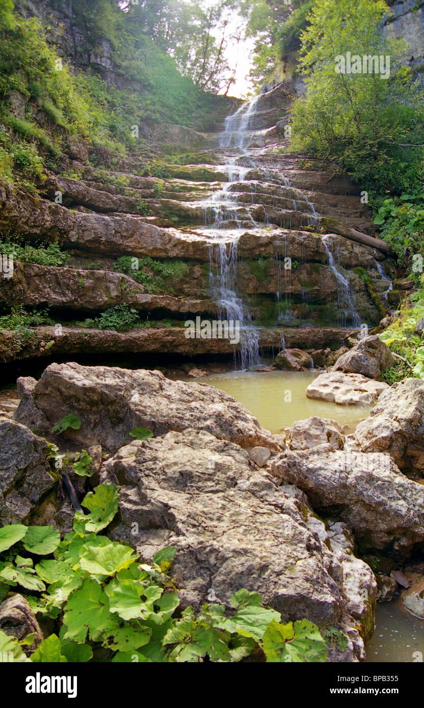 Landscapes of Adygeya, 2005 - Stock Image