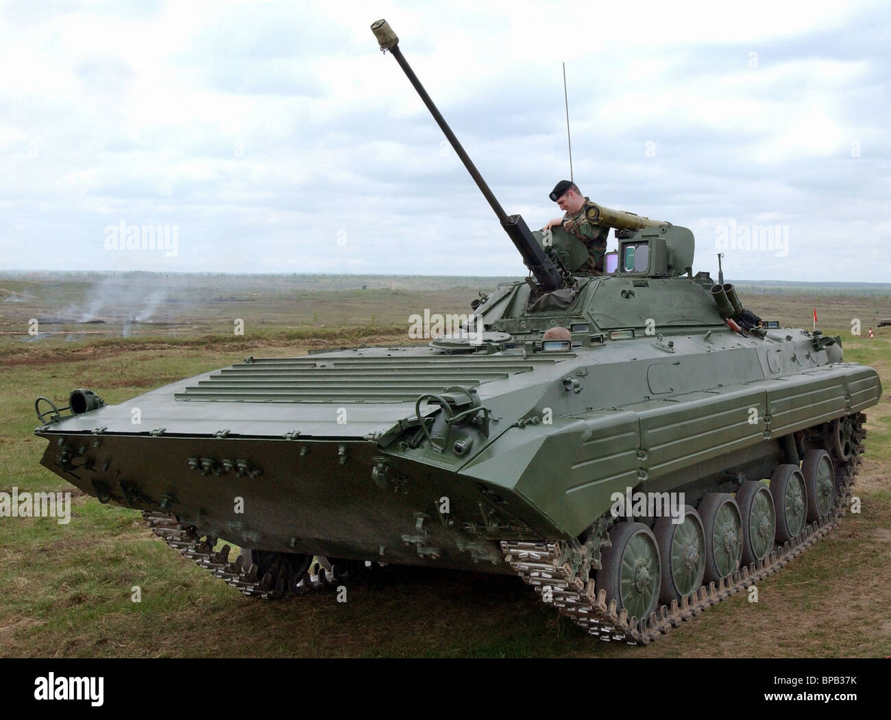 MILEX-2005 International Exhibition of Arms and Military Engineering opened in Minsk - Stock Image