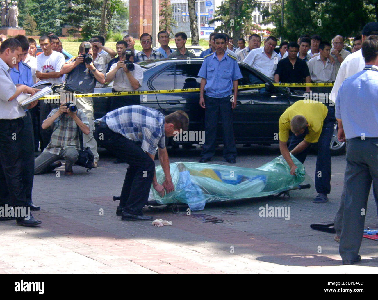 Kyrgyz Parliament Member Killed in Attack - Stock Image