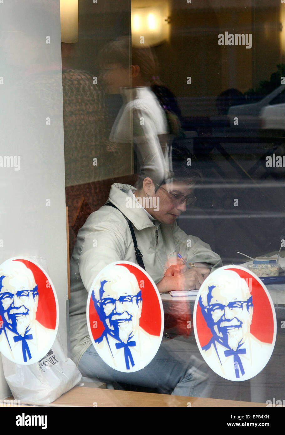 USA's Yum! Brands and Russia's Rostik's sign business alliance - Stock Image