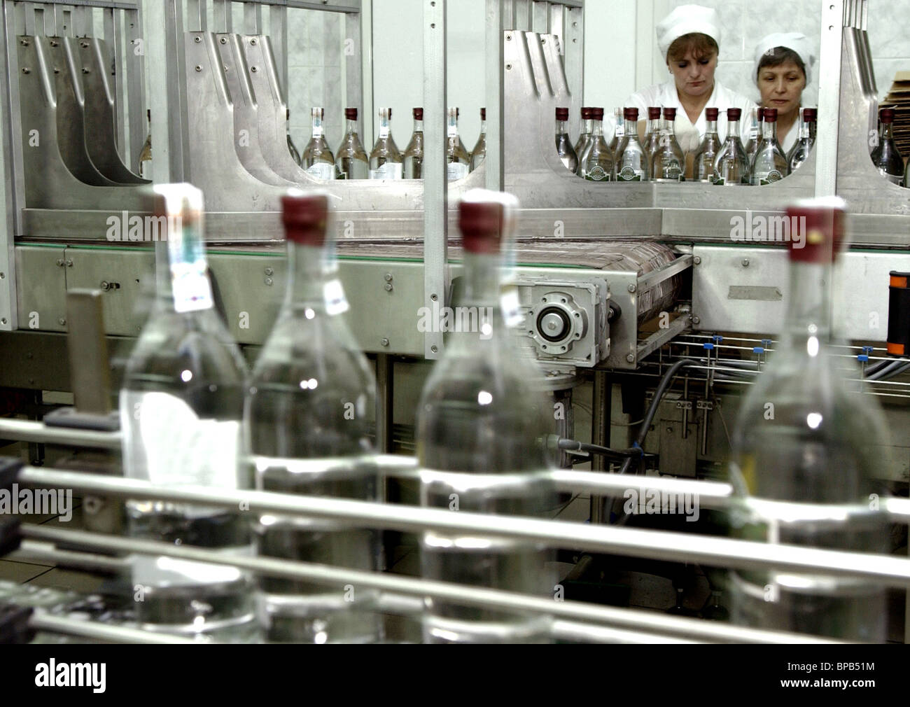 Distilleries of Moscow Region on the verge of closing - Stock Image