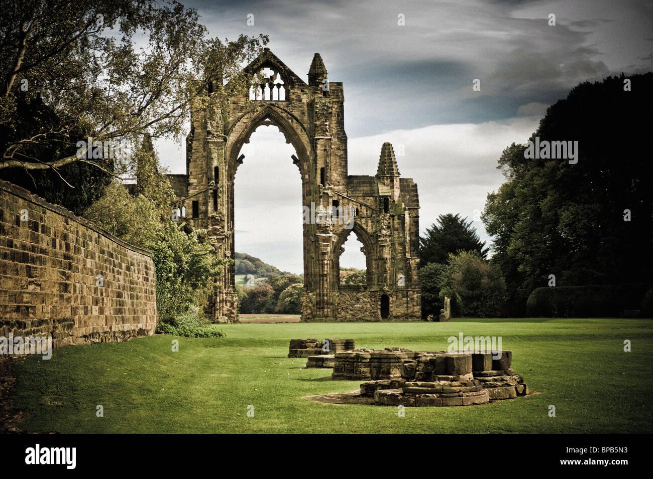 Guisborough Priory - Stock Image