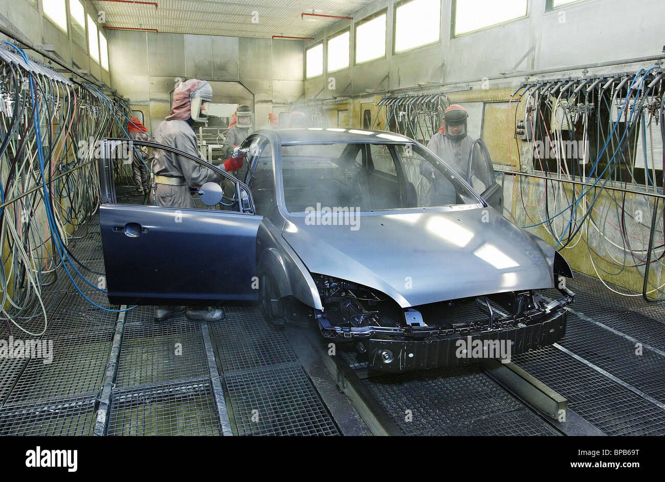 Ford Focus Ii Cars Produced At Ford Motor Company Plant In Leningrad