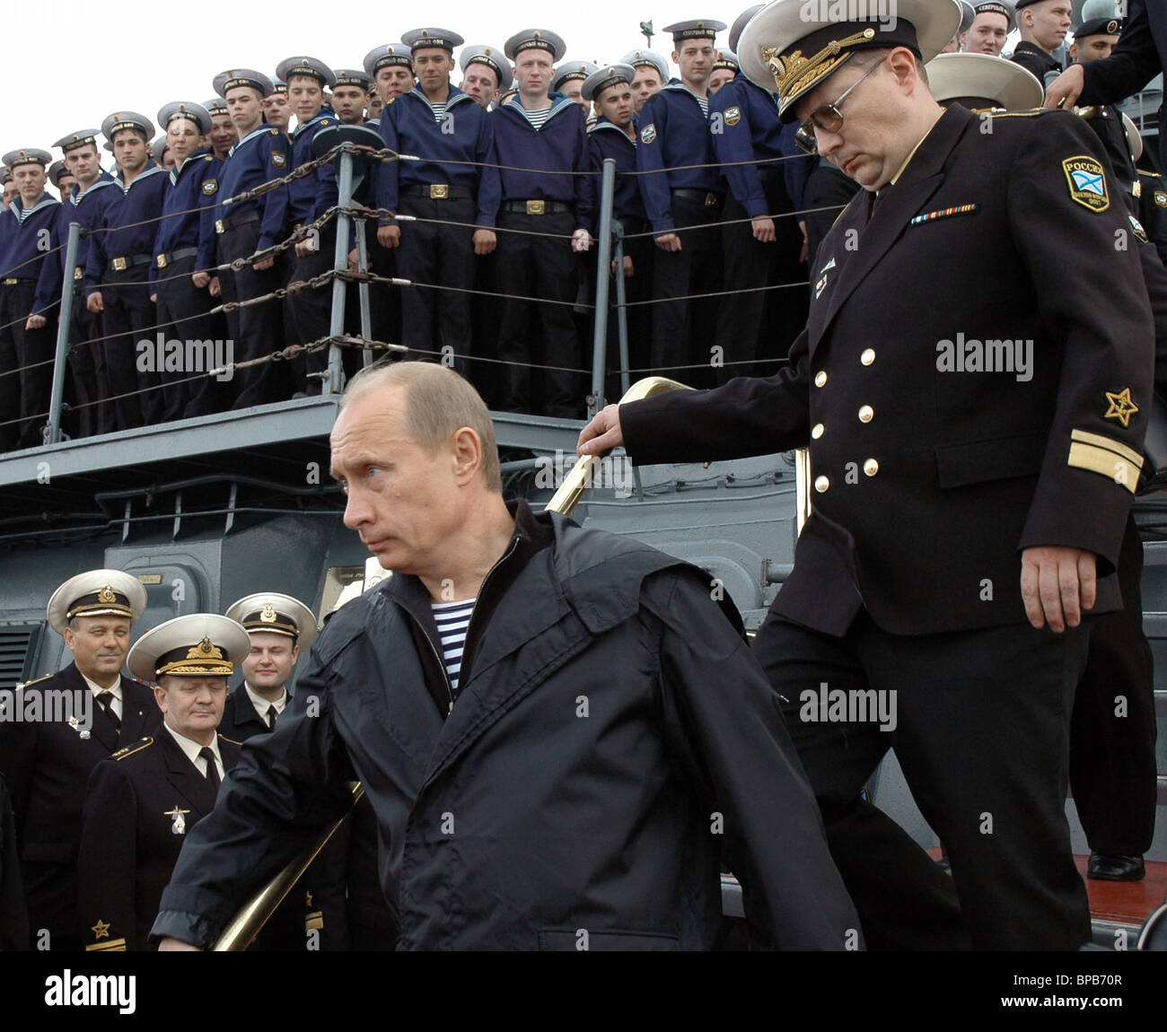 Russian President Vladimir Putin Inspects Military Exercises Of The Stock Photo Alamy
