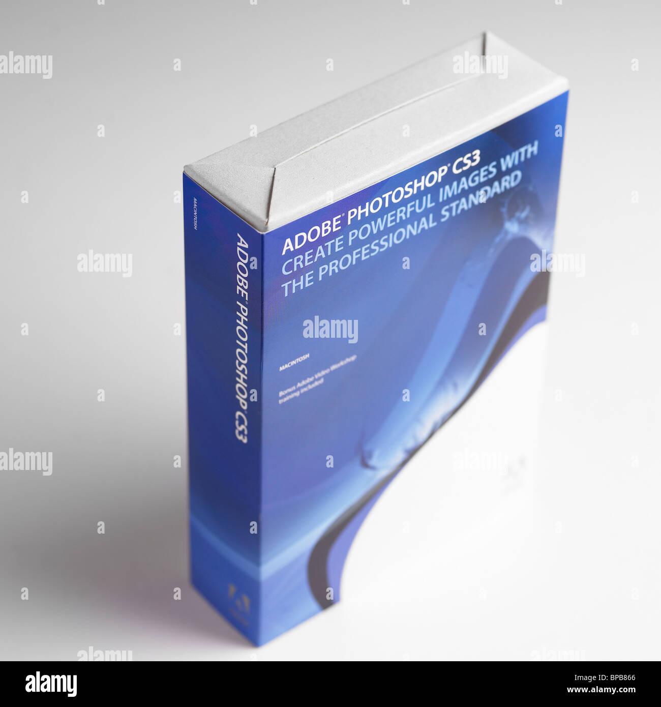 Adobe Photoshop CS3 - Stock Image