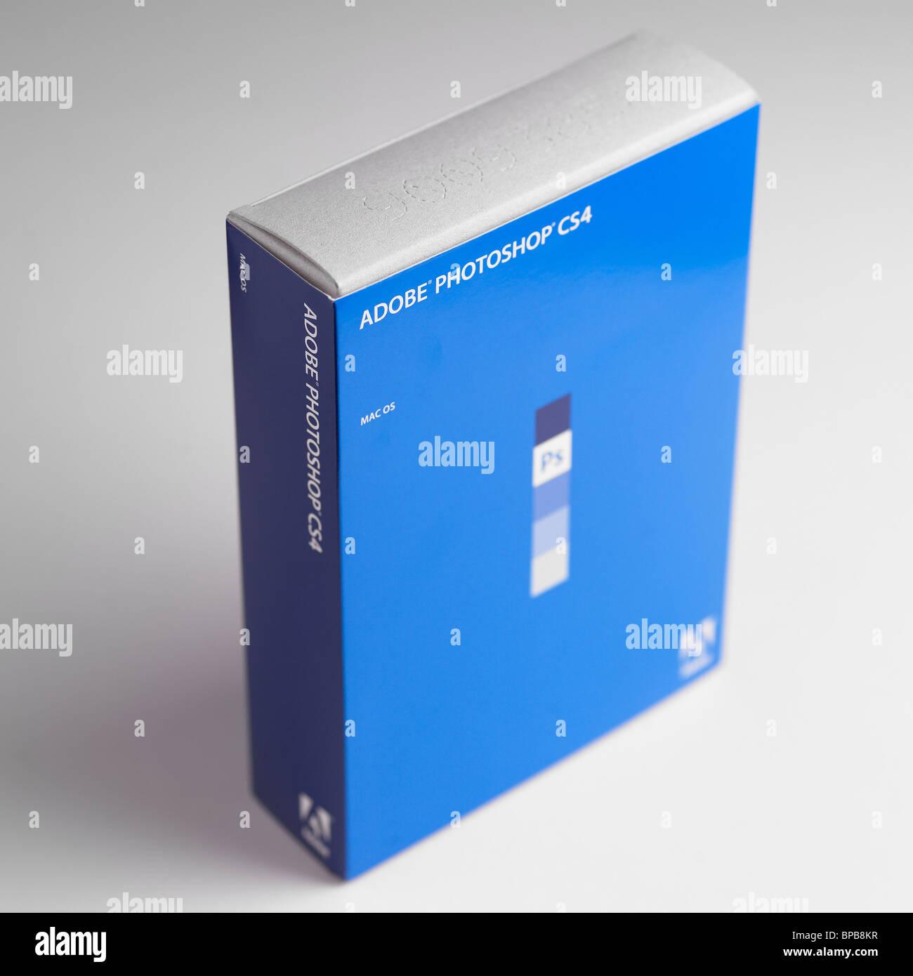Adobe Photoshop CS4 - Stock Image