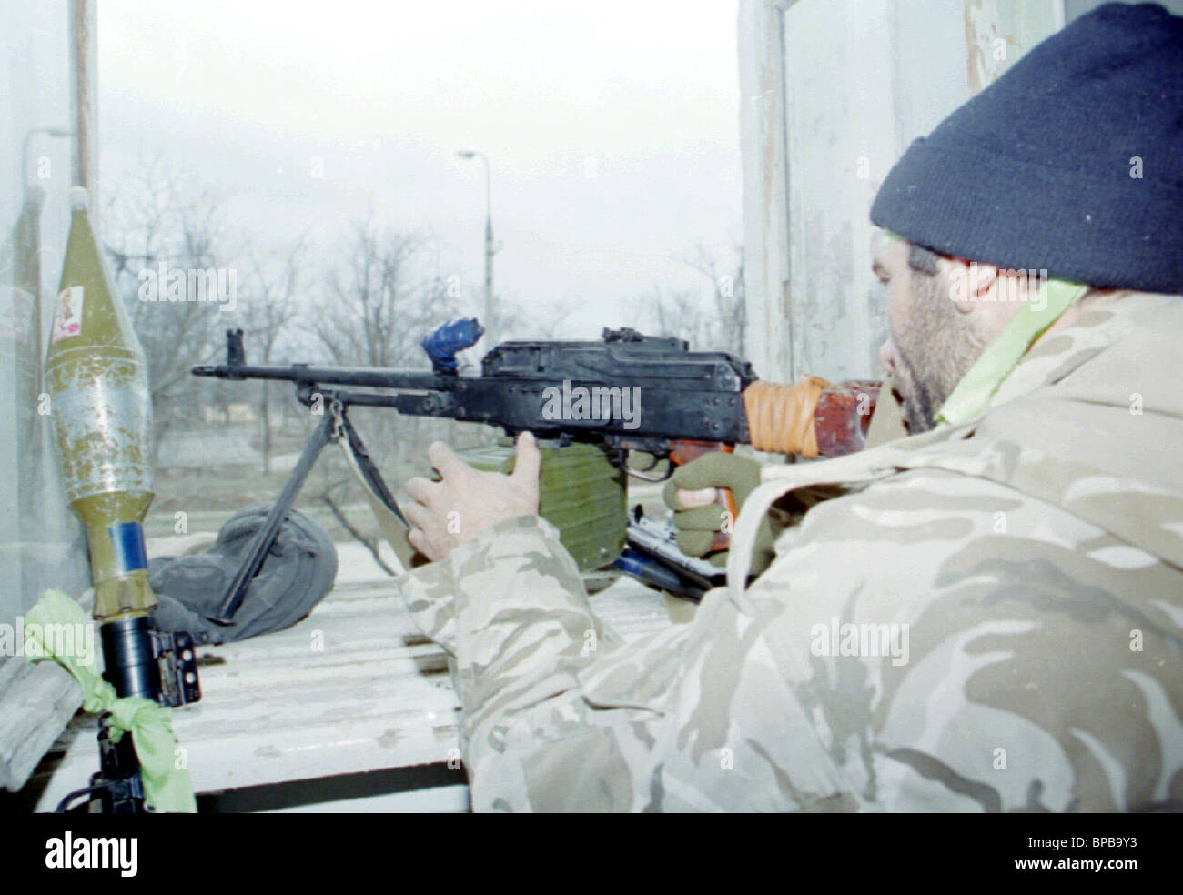 situation in Chechnya - Stock Image