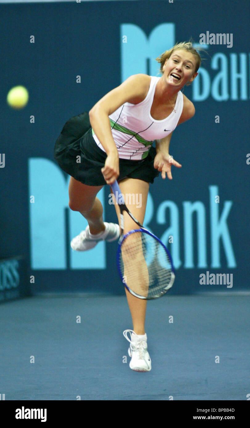 16th Kremlin Cup International Tennis Tournament Stock Photo
