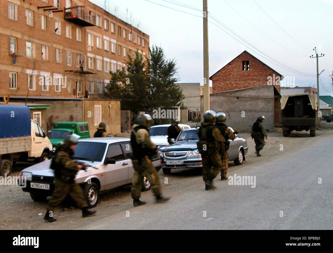 Two militants killed in Dagestan - Stock Image