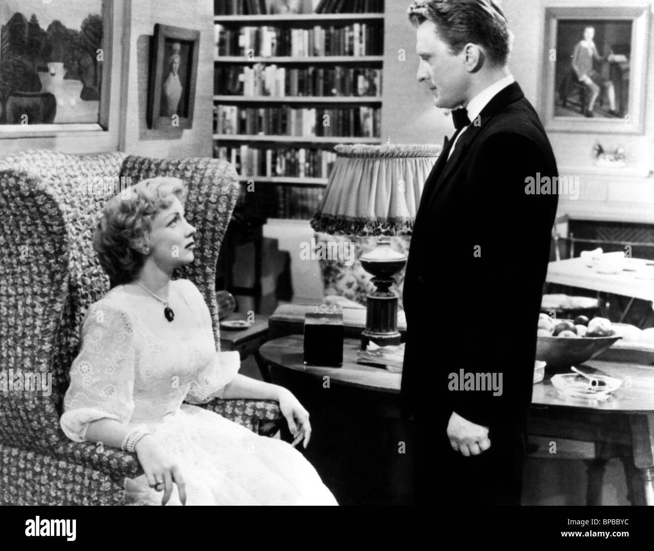 ANN SOTHERN & KIRK DOUGLAS A LETTER TO THREE WIVES 1949 Stock