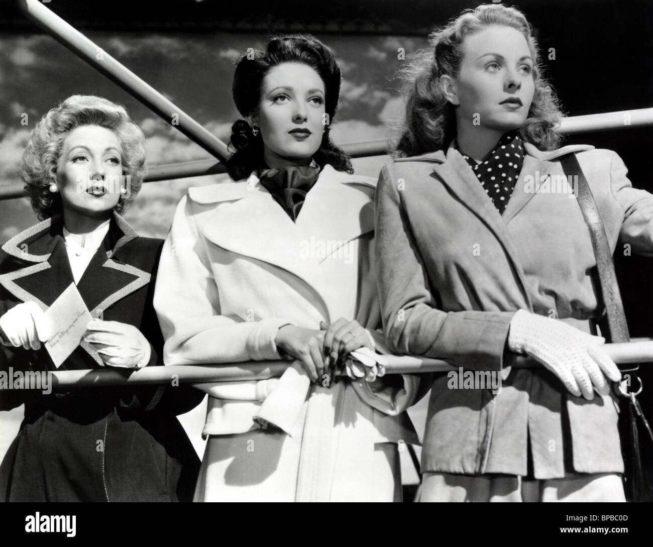 ANN SOTHERN LINDA DARNELL & JEANNE CRAIN A LETTER TO THREE WIVES