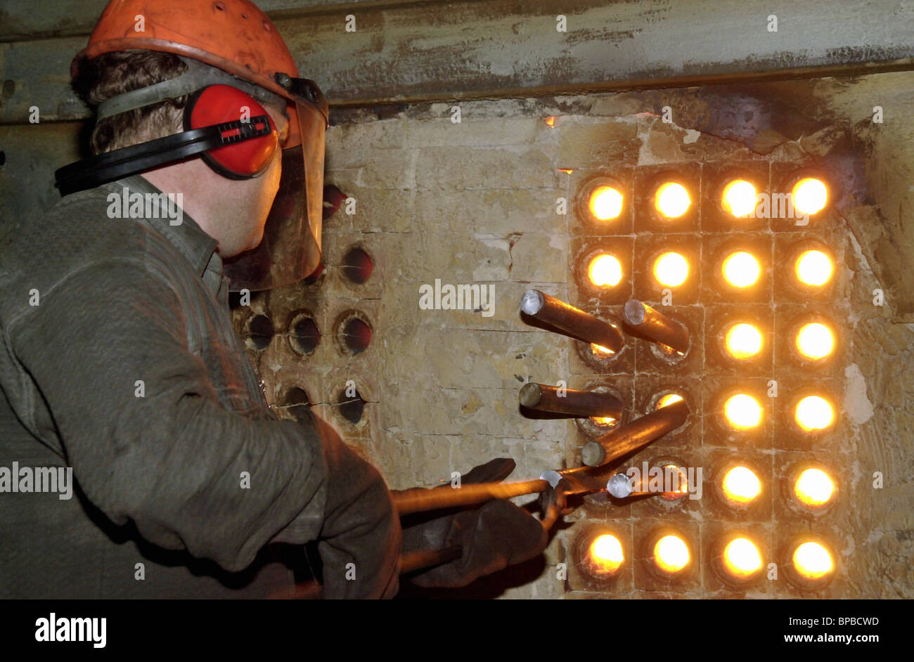 Having changed the administration їOskolsky electric and metallurgical industrial complexо increases the volume - Stock Image