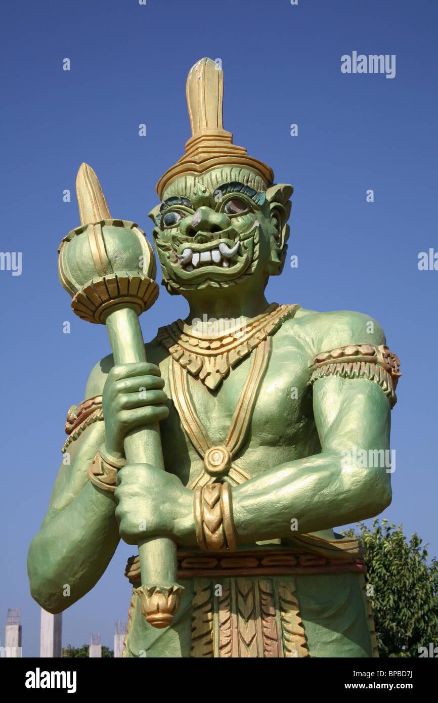 Wat Hanchey at Kampong Cham, Cambodia Stock Photo