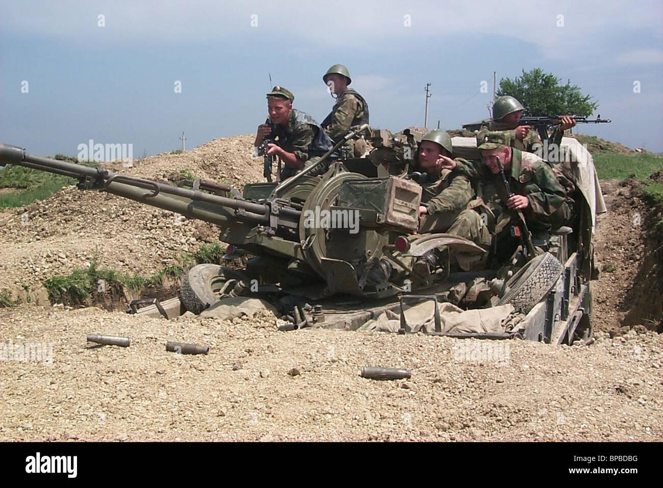 Dagestan keeps alert - Stock Image