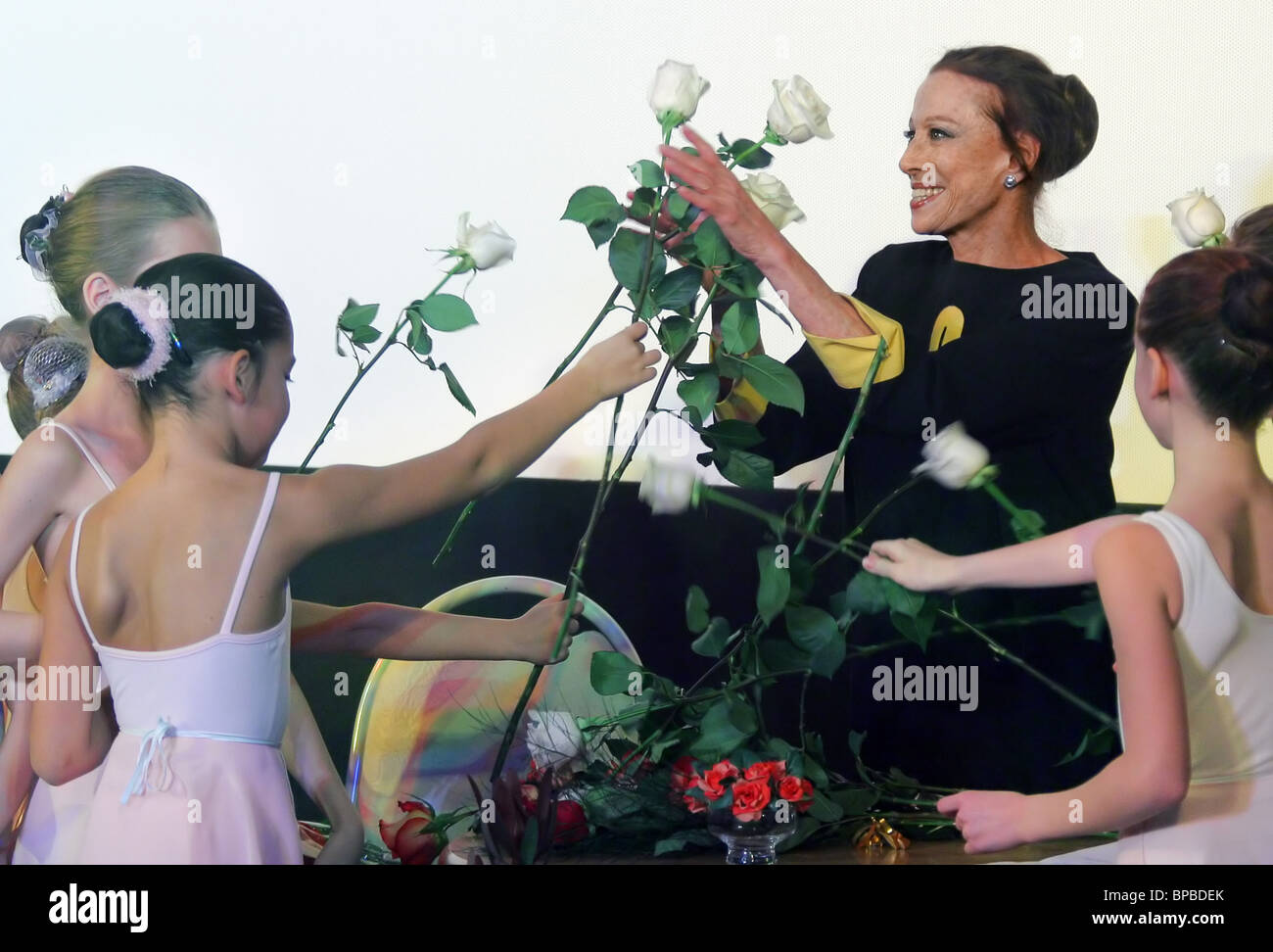 Festival of films featuring Maya Plisetskaya opens in Moscow - Stock Image