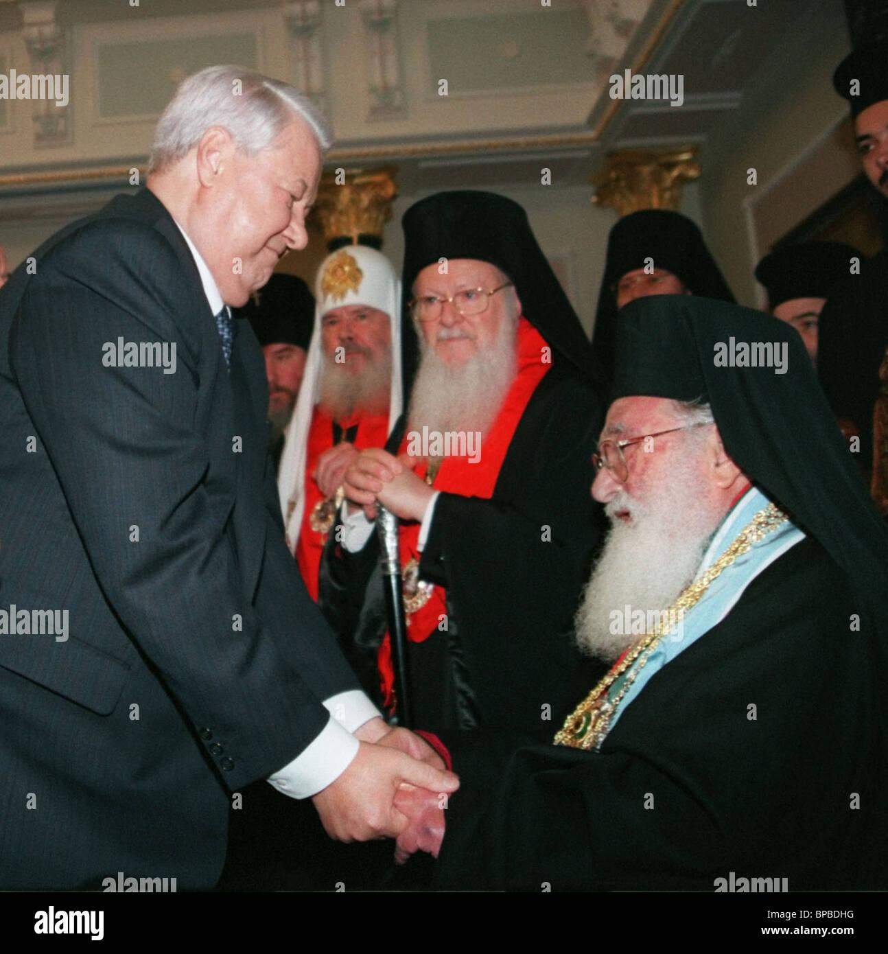 Yeltsin - Diodoros I - Stock Image