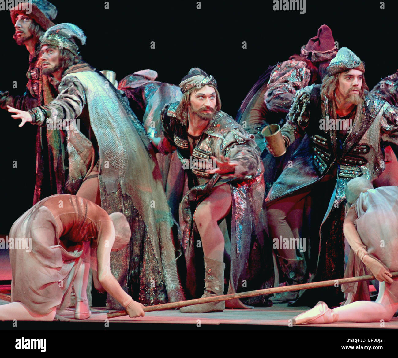 World premiere of Yury Grigorovich's Ivan the Terrible Ivan Grozny ballet is celebrated the 30-th anniversary - Stock Image