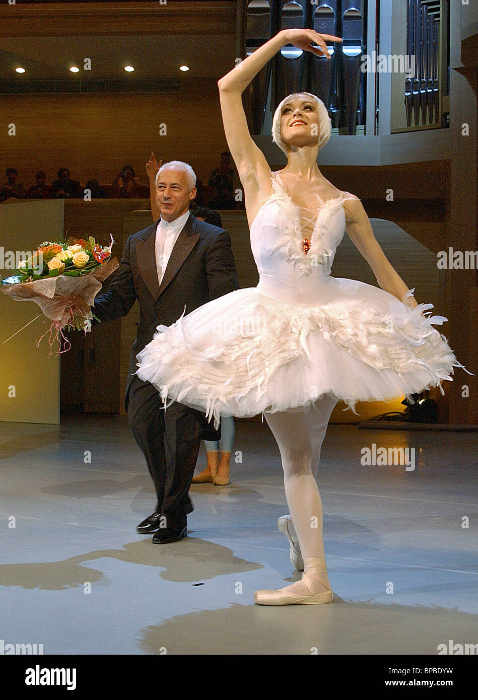 Performance ї20th Century Selected Symphony Dancesо staged at Moscow International House of Music within framework - Stock Image