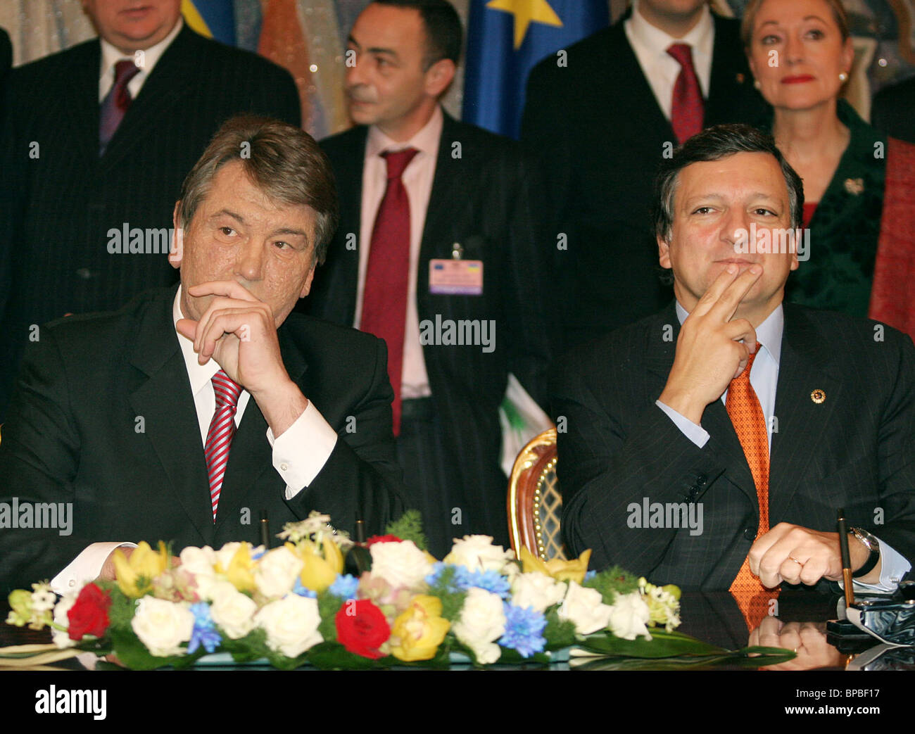 9th Ukraine-European Union summit opens in Kiev - Stock Image