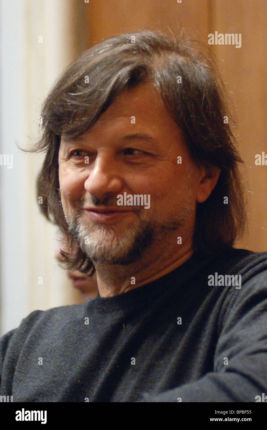 Recital dedicated to Alexei Rybnikovїs 60th birthday will be held in Moscow Tchaikovsky Conservatory - Stock Image