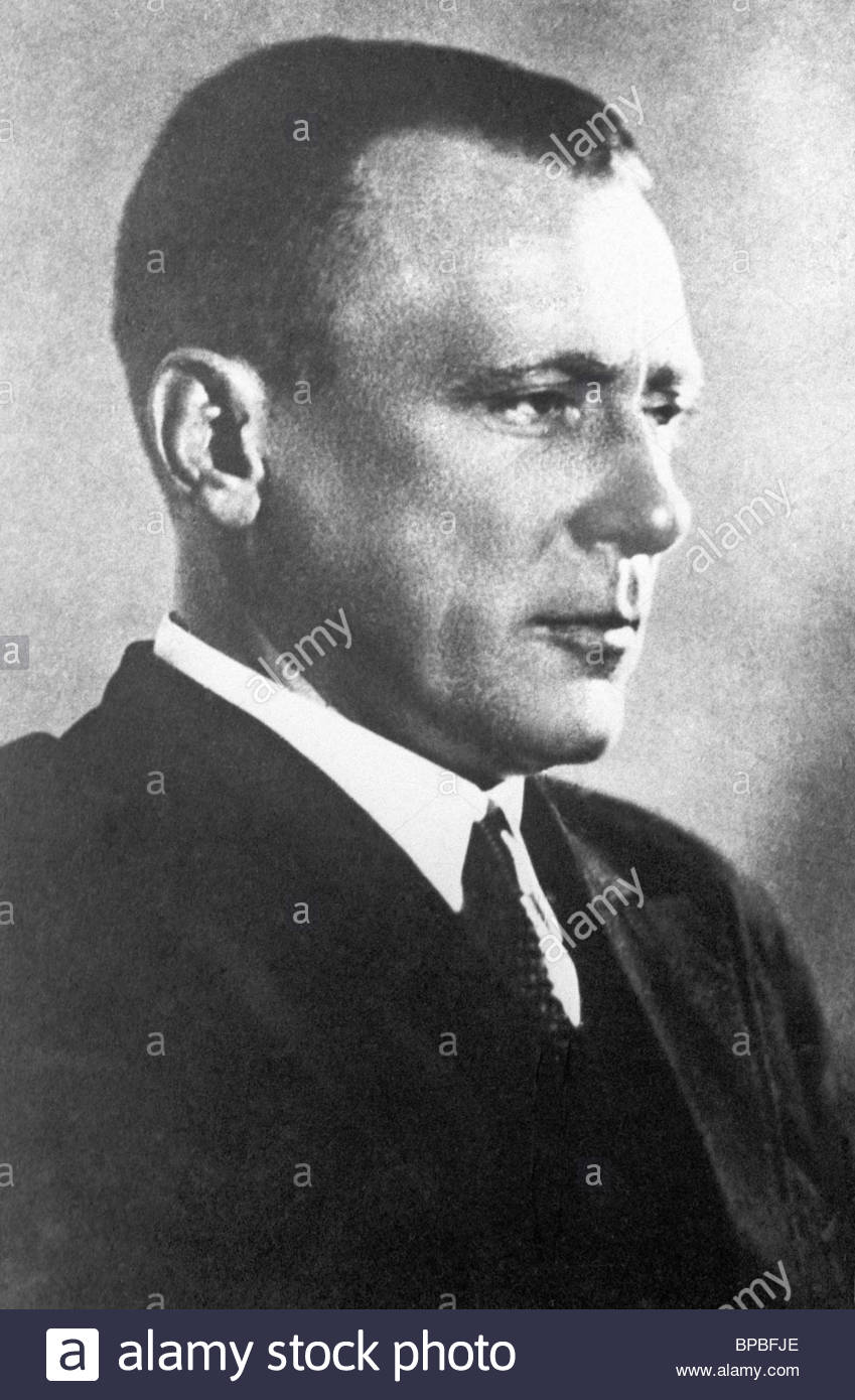 Writer Mikhail Bulgakov, 1936 - Stock Image