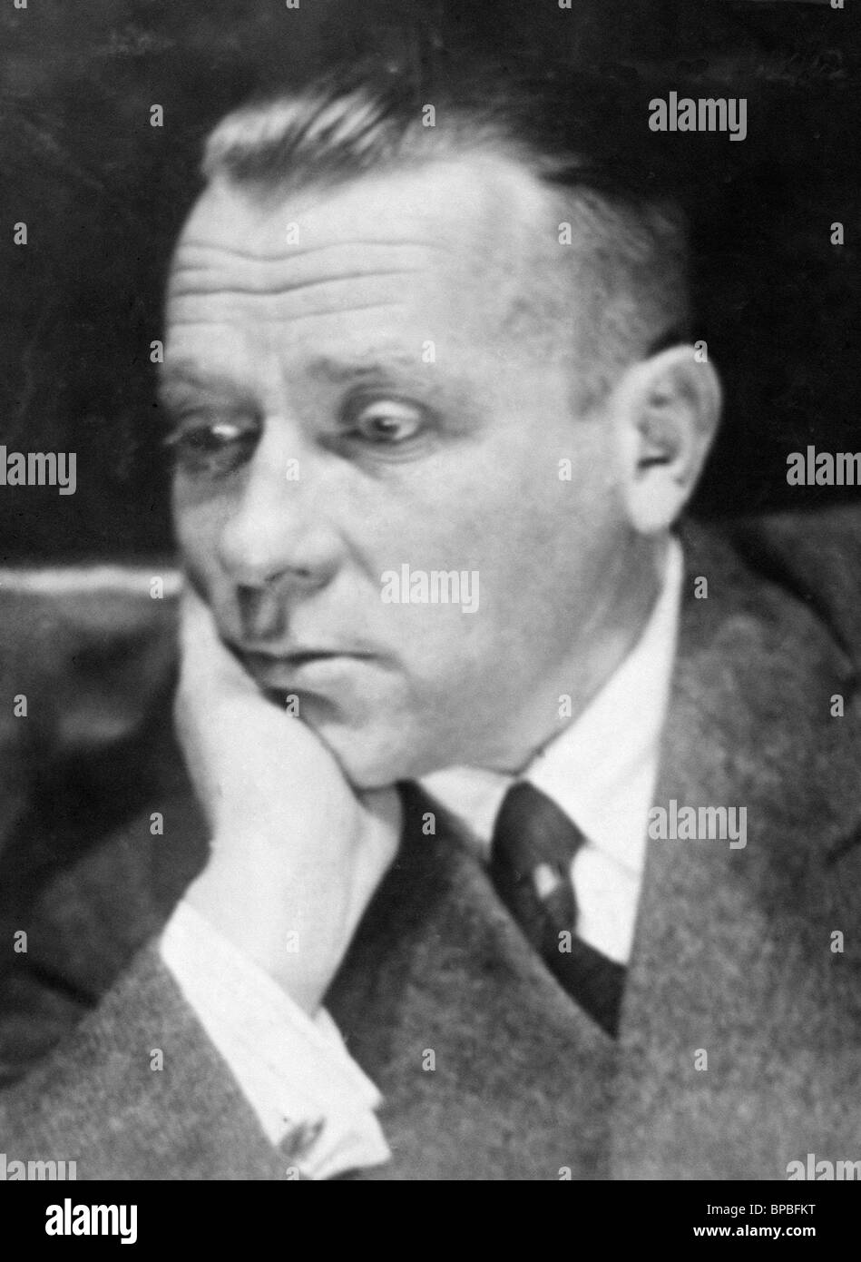 Russian writer Mikhail Bulgakov (1890-1941) - Stock Image