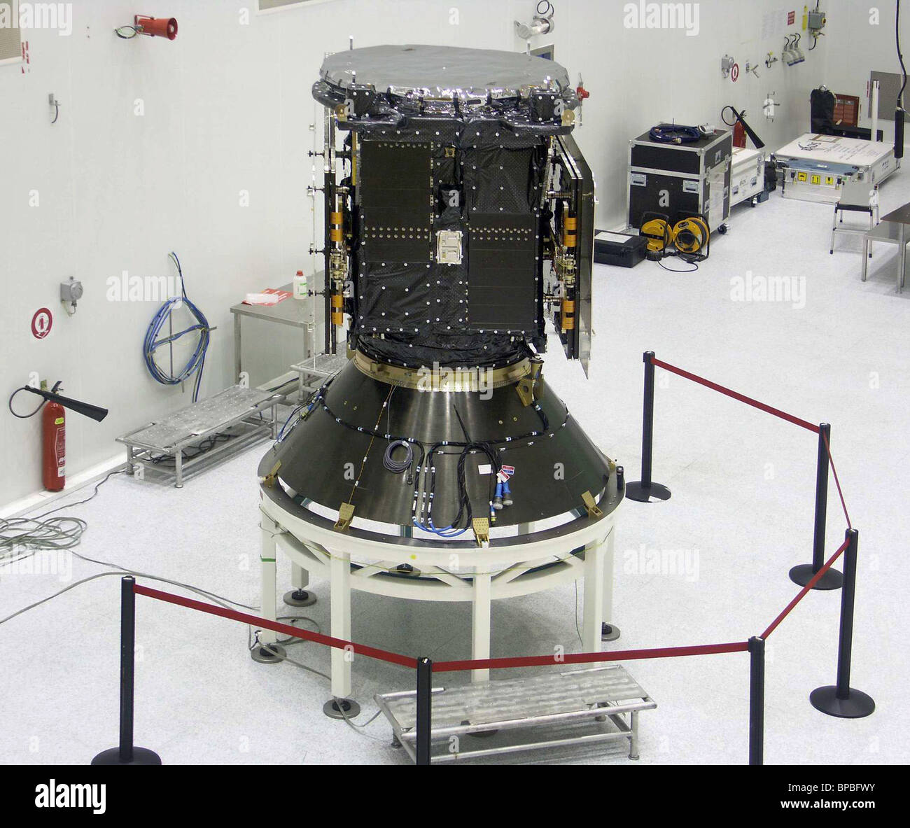 Galileo satellite launch delayed at customerїs request - Stock Image