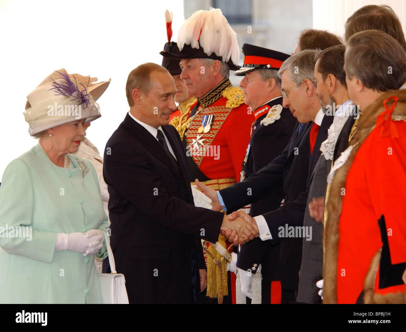 President Putin in London - Stock Image
