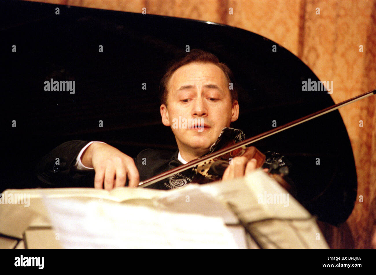 Charity concerts for Russian stage veterans - Stock Image