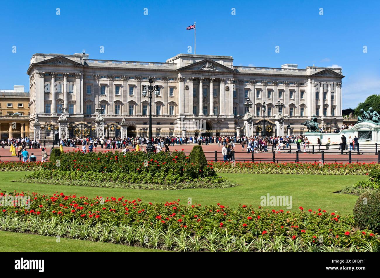 Buckingham palace, London - Stock Image