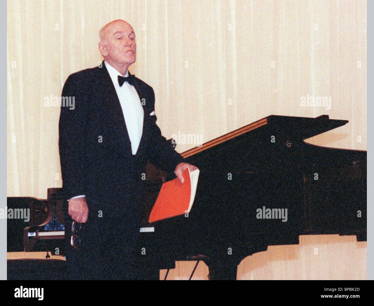 The greatest pianist of the XX century Svyatoslav Rikhter - Stock Image