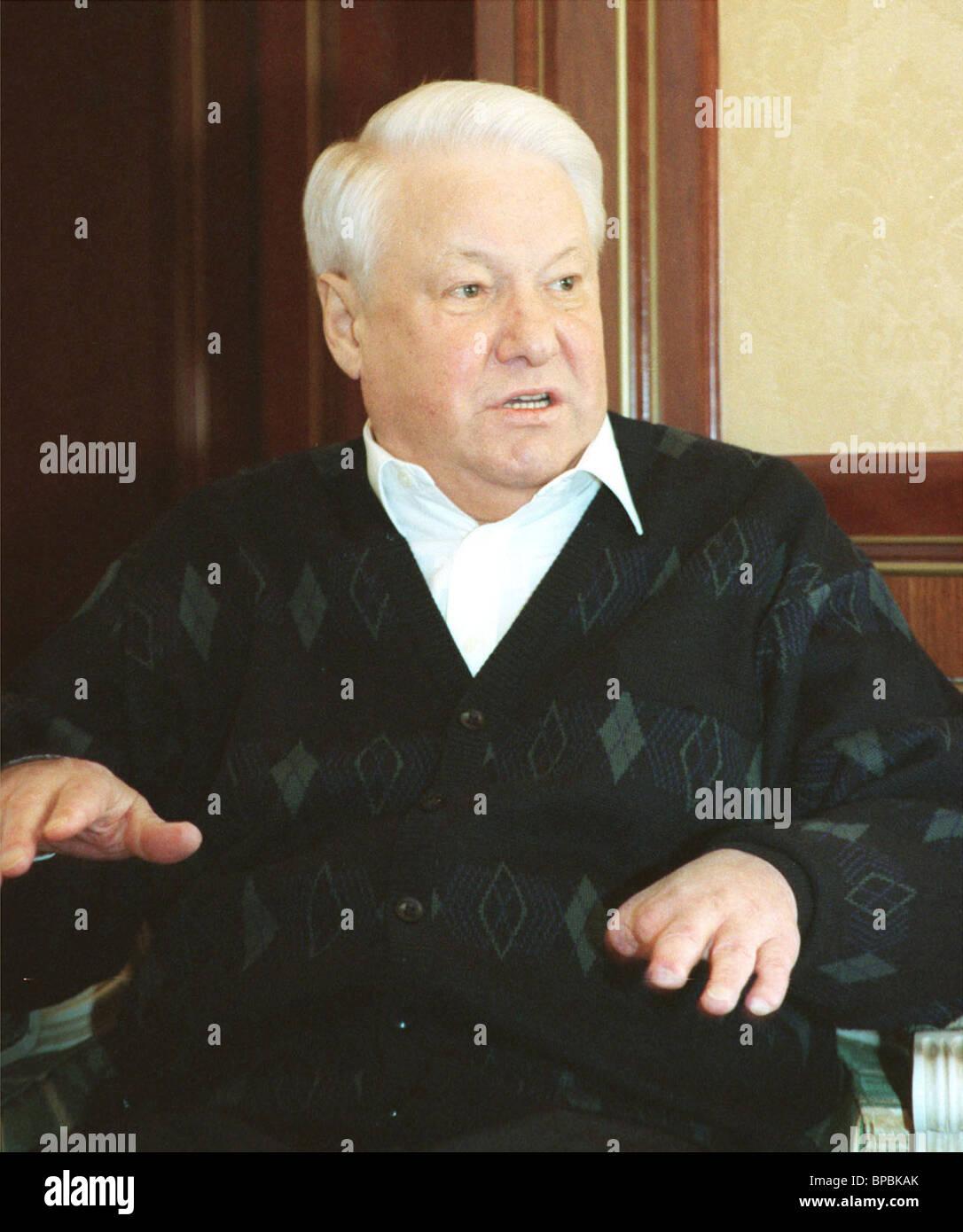 Yeltsin -- health - Stock Image