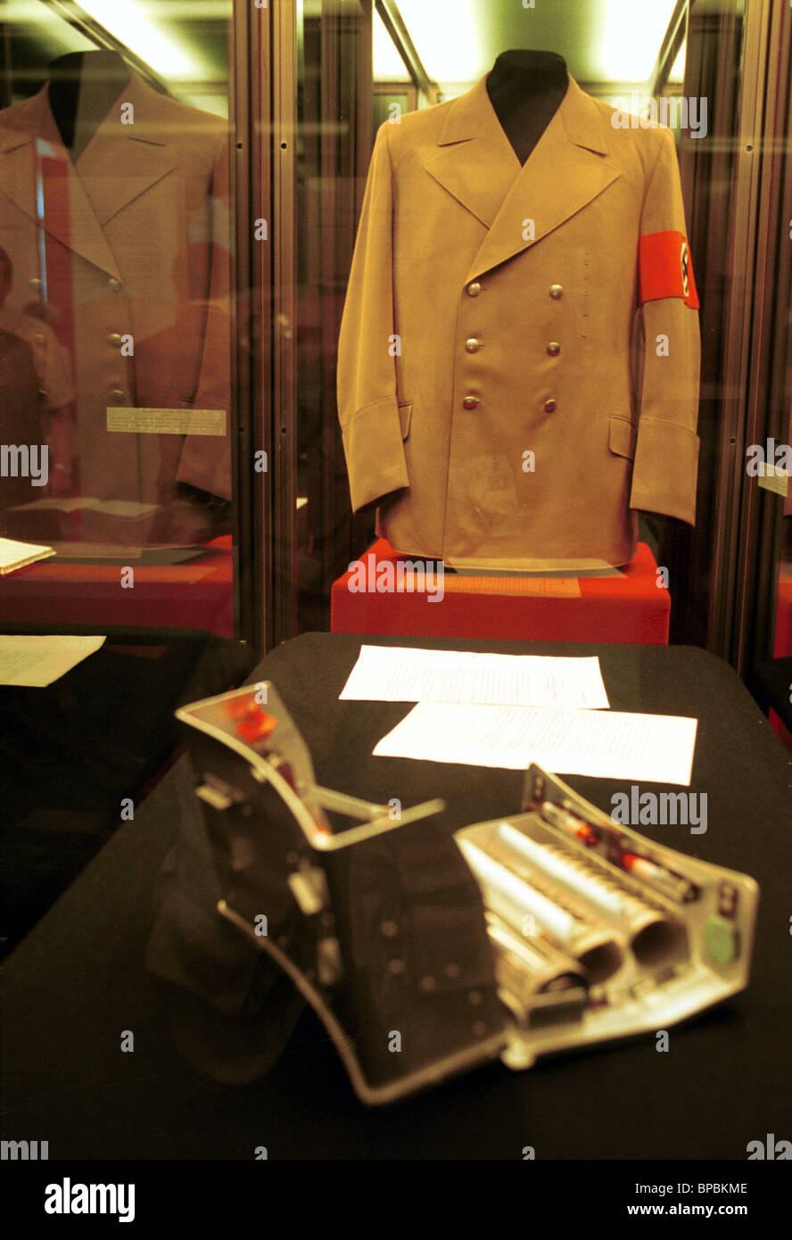 Adolf Hitler's full-dress uniform - Stock Image