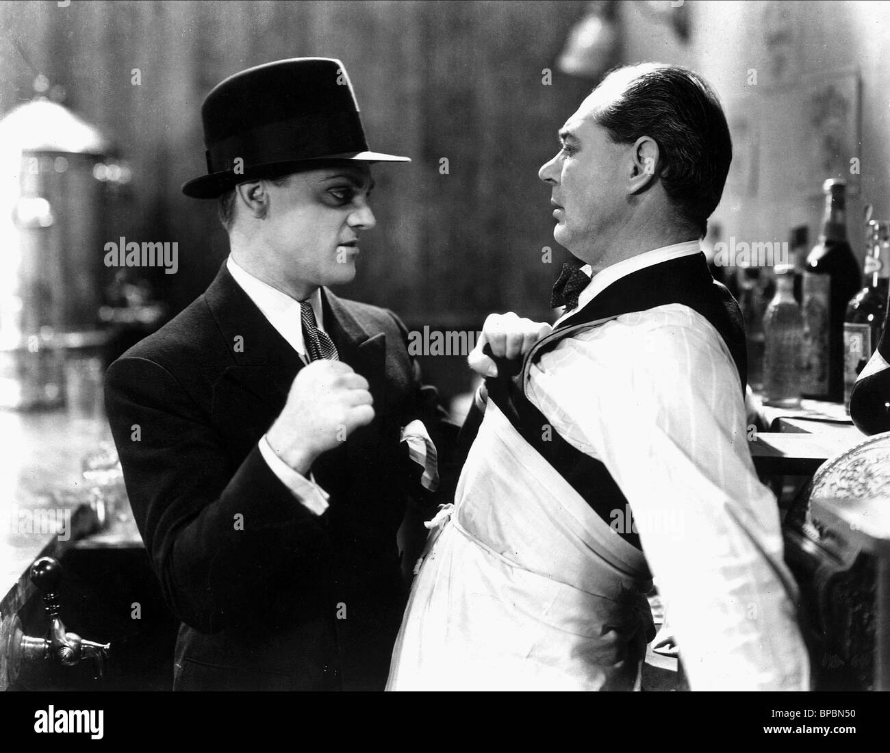 JAMES CAGNEY, LEE PHELPS, THE PUBLIC ENEMY, 1931 - Stock Image