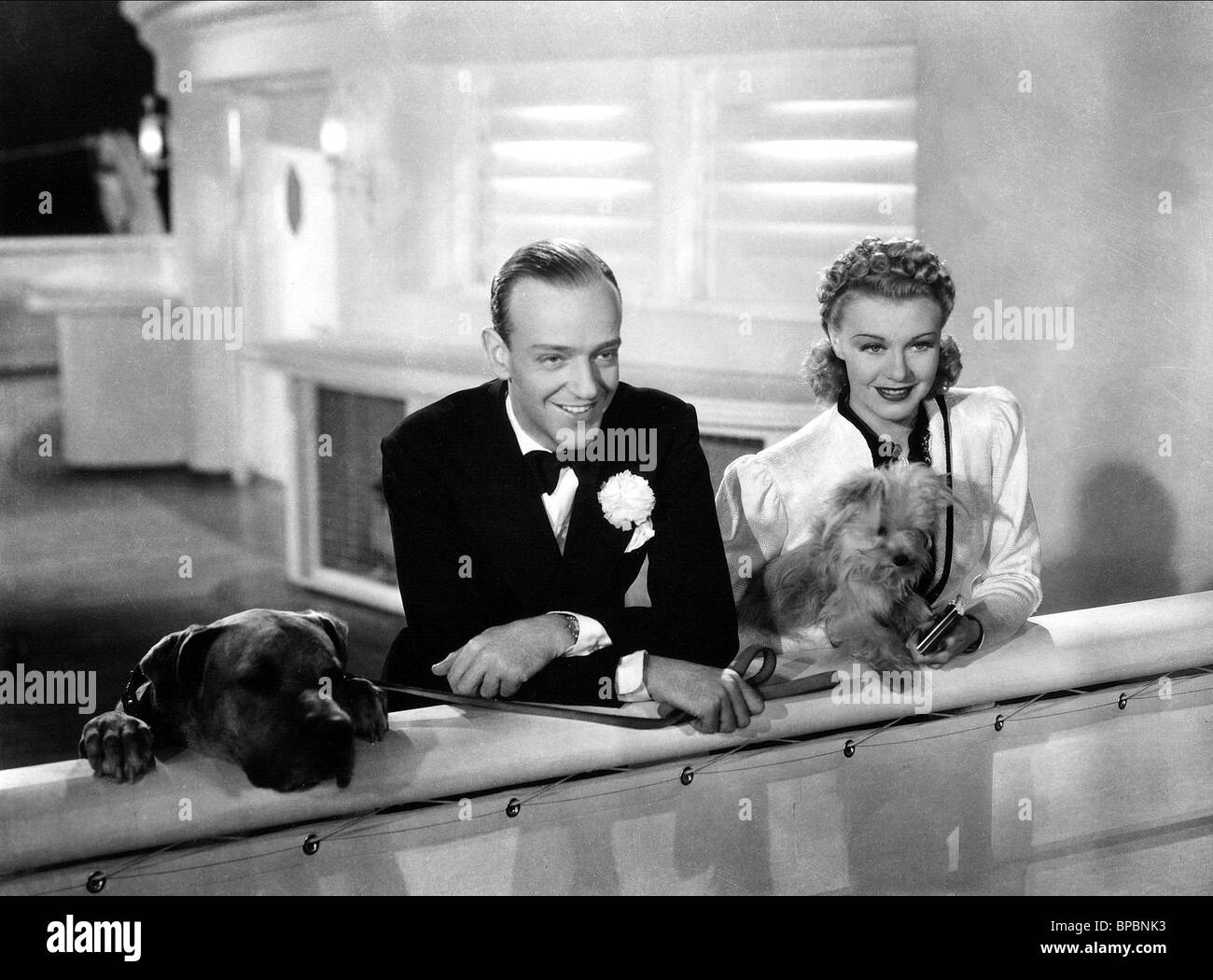 Fred Astaire Ginger Rogers Shall We Dance 1937 Stock Photo Alamy