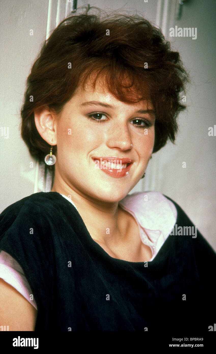 MOLLY RINGWALD SIXTEEN CANDLES (1984) - Stock Image