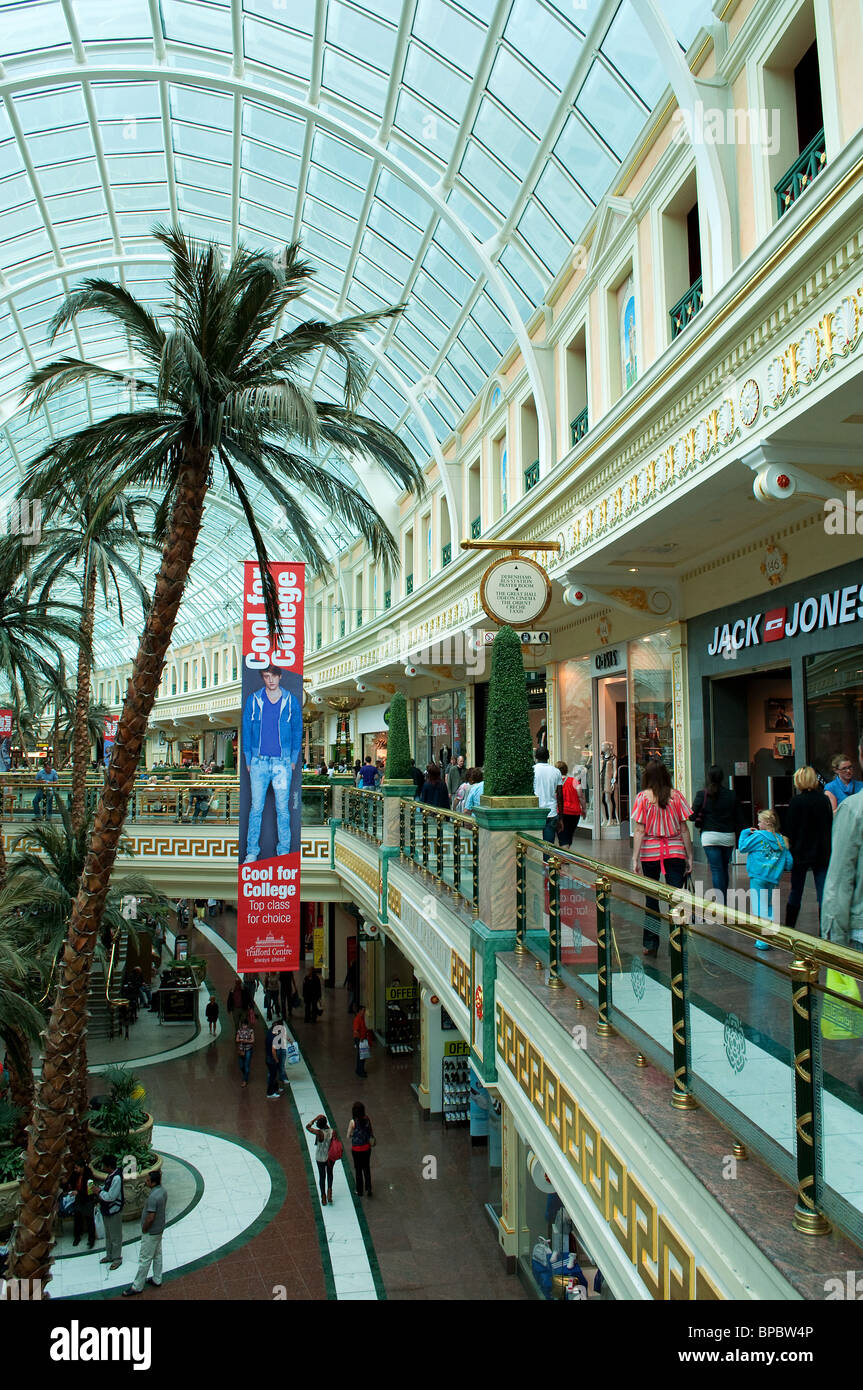 inside the trafford centre, manchester, uk - Stock Image